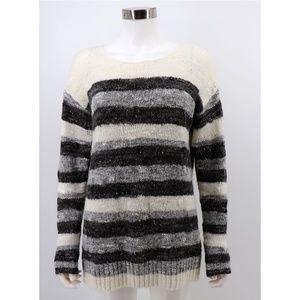 NYDJ Mixed Stitch Wool Blend Space Dye Sweater